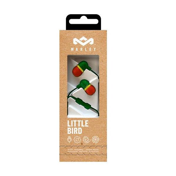 Audífono Marley Little Bird Rasta