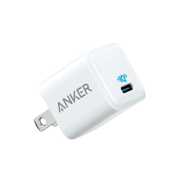 Cargador Pared Anker Rapido USB-C PowerPort III Blanco