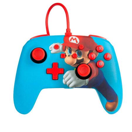 Control Alámbrico Nintendo Switch Mario Punch