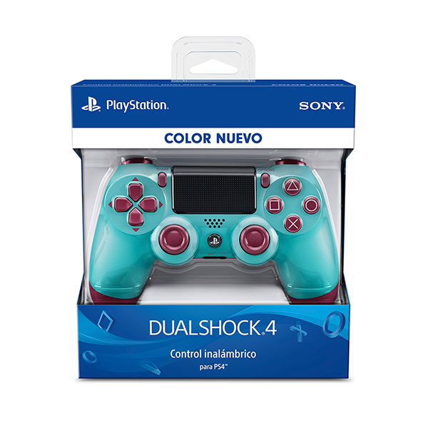 Control PS4 Dual Shock Berry Blue