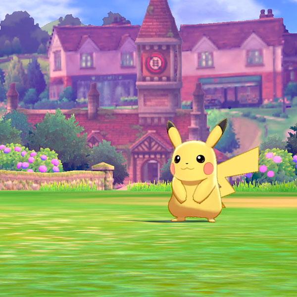 Juego Switch Pokemon Escudo