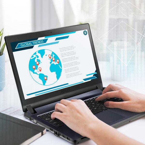 Portátil Asus Expertbook B1440fa 14 Core I3 4Gb 1Tb