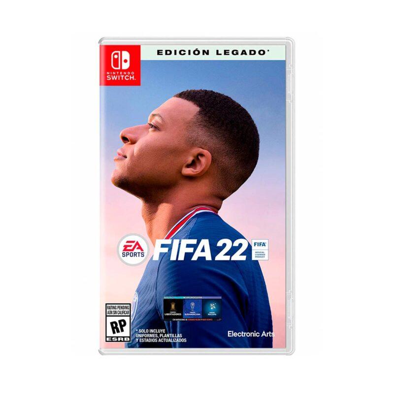 Juego Nintendo Switch FIFA 22