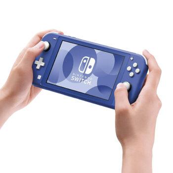 Consola De Nintendo Switch Lite Azul